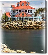 Parker's Lighthouse Charm Acrylic Print