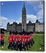 Parliament Building Ottawa Canada  Acrylic Print by Garry Gay