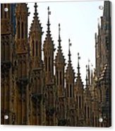 Parliament's Spires Acrylic Print