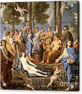 Parnassus, Apollo And The Muses, 1635 Acrylic Print