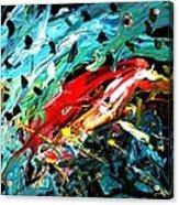 Parrot Magnet Acrylic Print