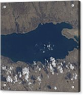 Part Of The Dead Sea And Parts Acrylic Print by Stocktrek Images