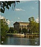 Parthenon At Nashville Tennessee 1 Acrylic Print