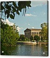 Parthenon At Nashville Tennessee 10 Acrylic Print by Douglas Barnett