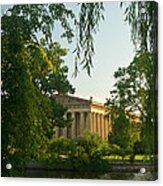 Parthenon At Nashville Tennessee 12 Acrylic Print