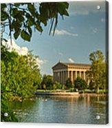 Parthenon At Nashville Tennessee 13 Acrylic Print