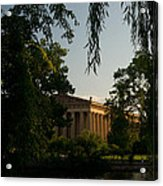 Parthenon At Nashville Tennessee 14 Acrylic Print