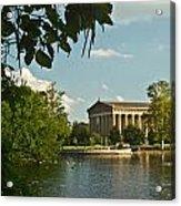 Parthenon At Nashville Tennessee 2 Acrylic Print