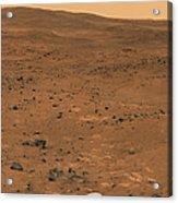 Partial Seminole Panorama Of Mars Acrylic Print