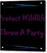 Party 3 Acrylic Print