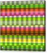Party Stripe Acrylic Print