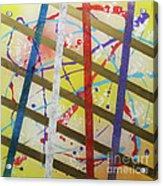 Party-stripes-1 Acrylic Print by Mordecai Colodner