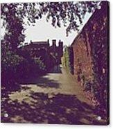 Passageway At Hampton Court Palace Acrylic Print