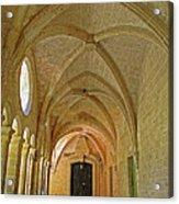 Passageway In A Monastery  Acrylic Print
