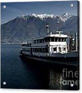 Passenger Ship On The Lake Acrylic Print