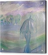 Passing Shower Acrylic Print
