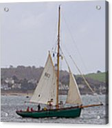 Passing St Mawes Acrylic Print