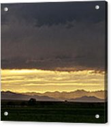 Passing Storm Clouds Acrylic Print