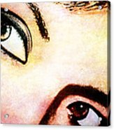Passionate Eyes Acrylic Print