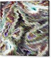 Pastel Art Acrylic Print