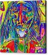 Pastel Man 16 Acrylic Print