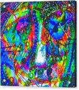 Pastel Man 21 Acrylic Print