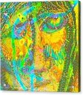Pastel Man 27 Acrylic Print