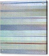 Pastel Stripes Acrylic Print
