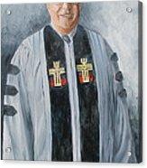 Pastor Mike Acrylic Print