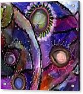 Patchwork Whimsey Acrylic Print