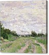 Path Through The Vines At Argenteuil Acrylic Print