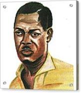 Patrice Lumumba Acrylic Print