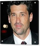 Patrick Dempsey At Arrivals For Avon Acrylic Print by Everett