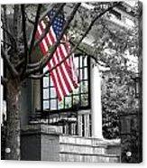 Patriot Porch Acrylic Print