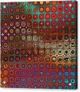 Pattern Study I Reflections Acrylic Print
