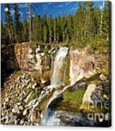 Pauina Falls Overlook Acrylic Print