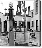 Paul Bunyan Atop Gas Station, Bemidji Acrylic Print by Everett