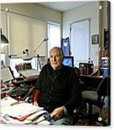 Paul Ekman, American Psychologist Acrylic Print by Volker Steger