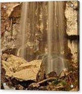 Paulina Falls Cascade Acrylic Print