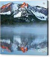 Paulina Lake Reflections Acrylic Print
