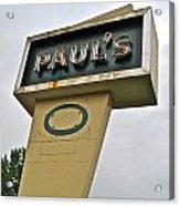 Paul's O Acrylic Print