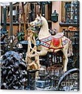 Pawn Shop In San Miguel Mexico 1991 Acrylic Print
