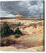 Pawnee Grasslands Acrylic Print by Ric Soulen