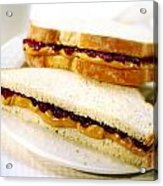 Pbj Sandwich Acrylic Print