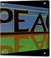 Peace-2 Acrylic Print