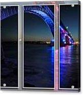 Peace Bridge 01 Triptych Series Acrylic Print