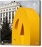 Peace From The Oakland Museum To The Supreme Court Of California . County Of Alameda . 7d13423 Acrylic Print by Wingsdomain Art and Photography