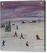 Peace On Earth...goodwill Toward Men Acrylic Print