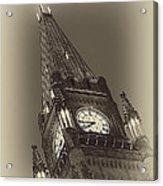 Peace Tower Acrylic Print