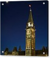 Peace Tower, Parliament Building Acrylic Print